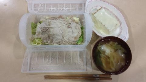 ダイエットカウンセリング中の夜の食事メニュー